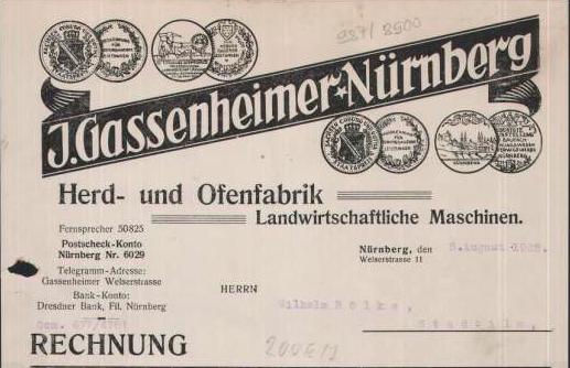 J. Gassenheimer-Nürnberg