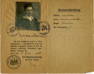 Emma Marcus Ausweis