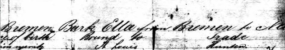 Leopold Gassenheimer.Bibra.New York 1849-2