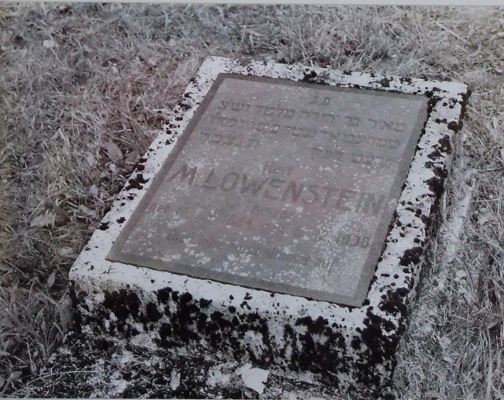 M. Levinstein grave