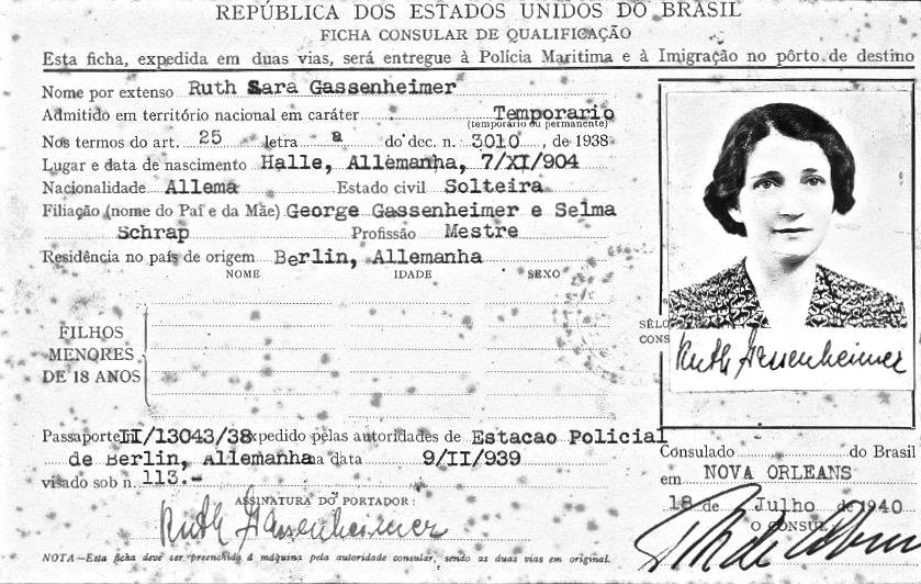 Ruth Gassenheimer Brasil