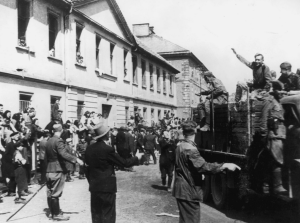Theresienstadt, Czechoslovakia, 1945, Arrival of the Red Army