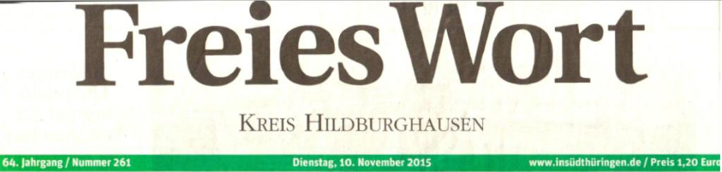 Freies Wort.10.11.2015